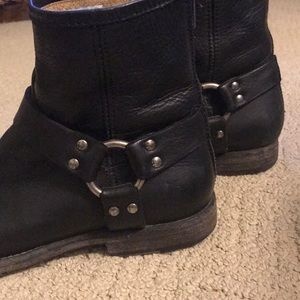 Frye Shoes - Frye Philip harness boots